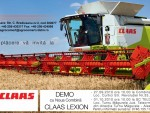 Claas Lexion - mai rapid, mai confortabil, mai productiv şi mai economic