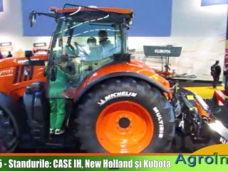 SIMA 2015 standurile Case IH, New Holland si Kubota