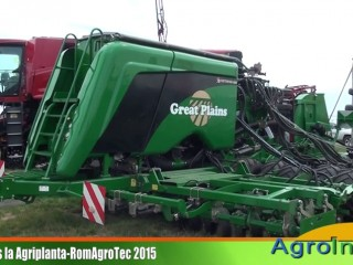Great PLAINS la Agriplanta-RomAgroTec 2015