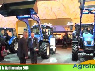 New Holland – stand Agritechnica 2015