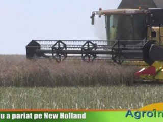 Ţuţuianu a pariat pe New Holland
