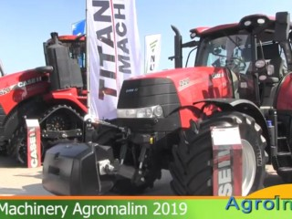 Titan Machinery la Agromalim 2019