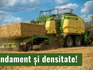 KRONE BiG Pack – Randament și densitate!
